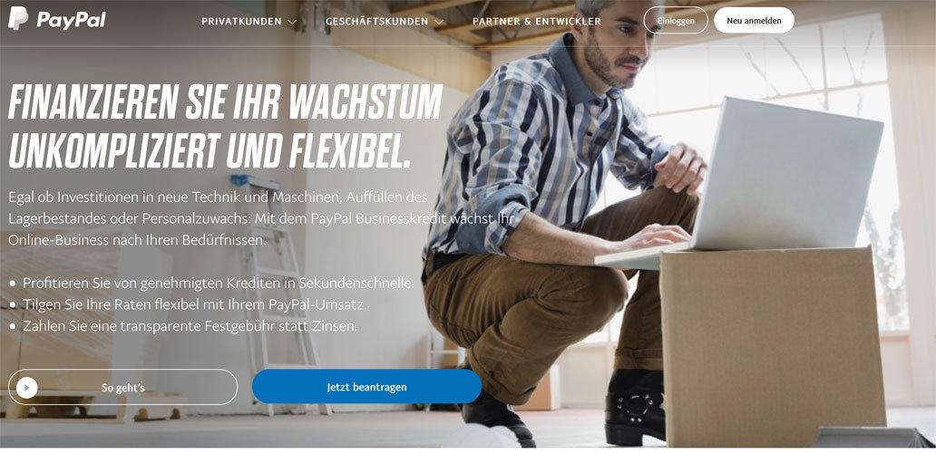 paypal kredit