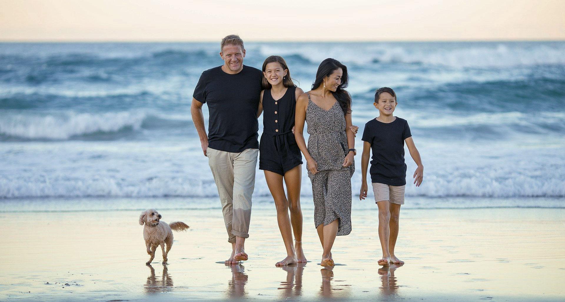 familie hat urlaub mit santander-schnellkredit finanziert